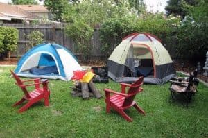 Enjoy Backyard camping