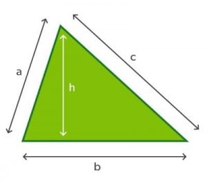 Measuring - triangle